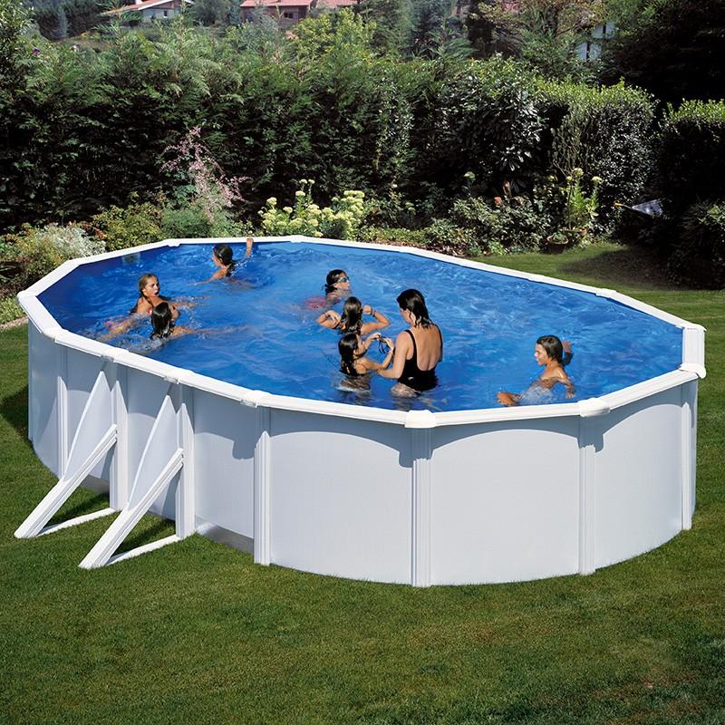Instalaci n de piscinas desmontables piscinas menorca - Piscinas de acero enterradas ...
